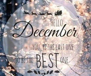 december and hello december image