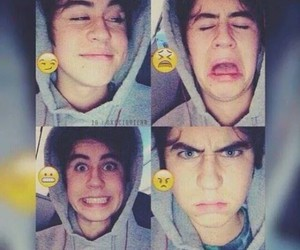 nash grier, nash, and emoji image