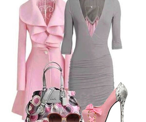 bag, love it, and pink image