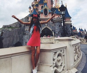 girl, disneyland, and disney image