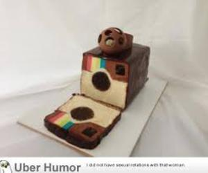 instagram, cake, and food image