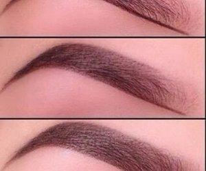 beauty, style, and brows image