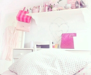 bedroom, cool, and pink image