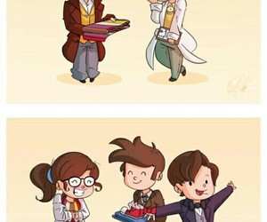 doctor who, fourth, and tenth image