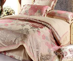 floral print, bedding set, and cover sets image