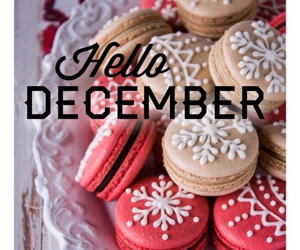 december, edit, and hello image