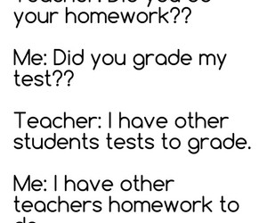 funny, grades, and homework image