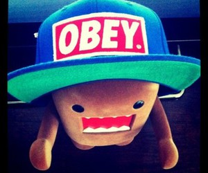 obey, swag, and domo image