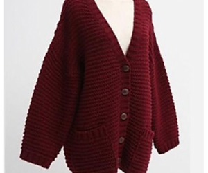 cardigan, clothes, and fall image