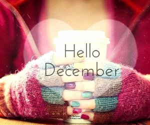 december, hello, and winter image