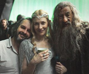 gandalf, galadriel, and LOTR image