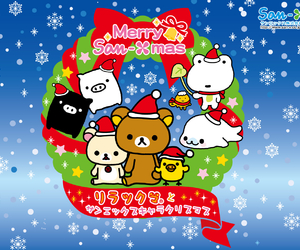 christmas, rilakkuma, and san-x image