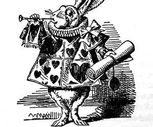 alice in wonderland, art, and book image