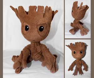 plush, toy, and groot image
