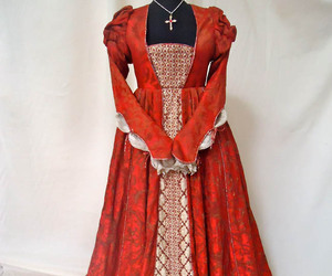 dress, red, and juliet image