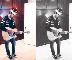 boy, guitar, and samuel image