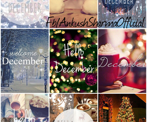month, hello december, and 2014 image