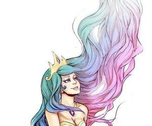 pastel, mermaid, and princess image