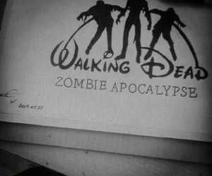 the walking dead, zombie, and disney image