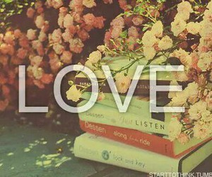 books, libros, and love image