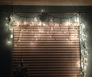 blue, christmas, and christmas lights image