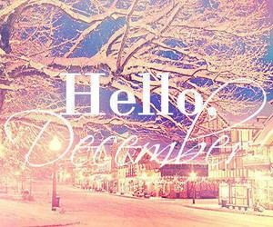 hello, snow, and love image