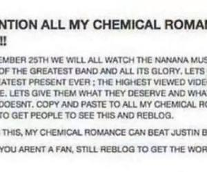 band, december, and my chemical romance image