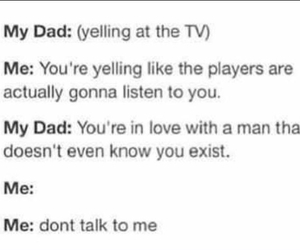 dad, funny, and love image