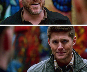 dean winchester, goodbye, and Jensen Ackles image