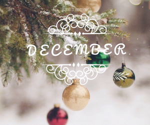 december and christmas image