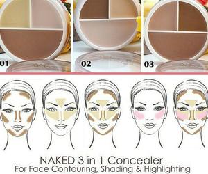 makeup and contouring image