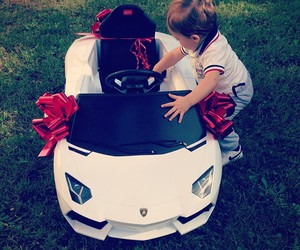 baby, car, and cute image