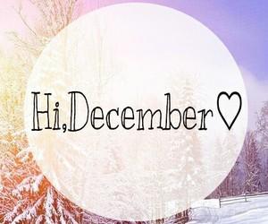 *-*, december, and hi image
