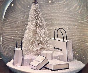 chanel, fashion, and snow image