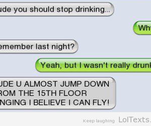 drunk, funny, and lol image