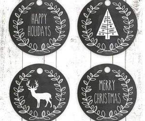 christmas, decor, and happy holiday image
