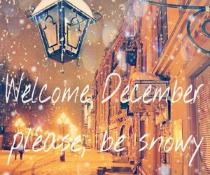 december and snow image