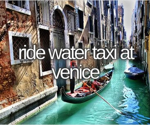 italy, vacation, and venice image
