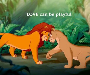 love, lion king, and disney image
