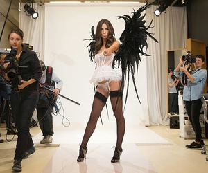 Angel Wings, fashion, and Lily Aldridge image