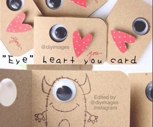 diy, monster, and card image