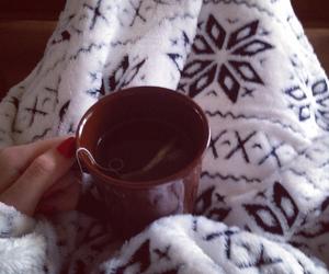 warm, winter, and tea image