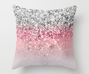 pink, girly, and pillow image