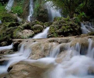 mother nature, waterfall, and nature image