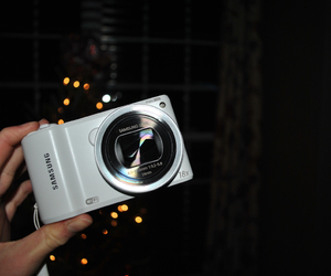 camera and christmas image