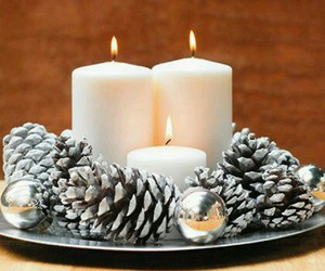 christmas and candles image