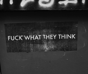 fuck, think, and what image