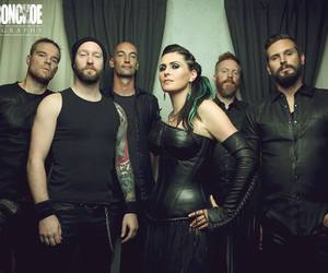 music, symphonic metal, and within temptation image