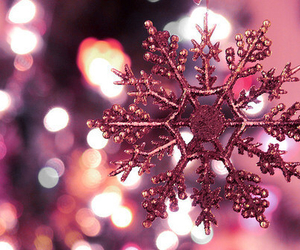 christmas, snowflake, and snow image