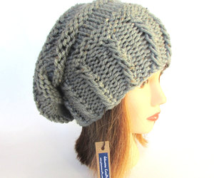 chunky, gray, and hat image